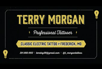 Terry Morgan Business Card