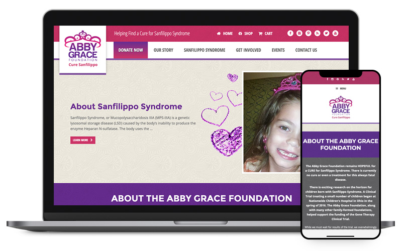 Abby Grace Foundation Website