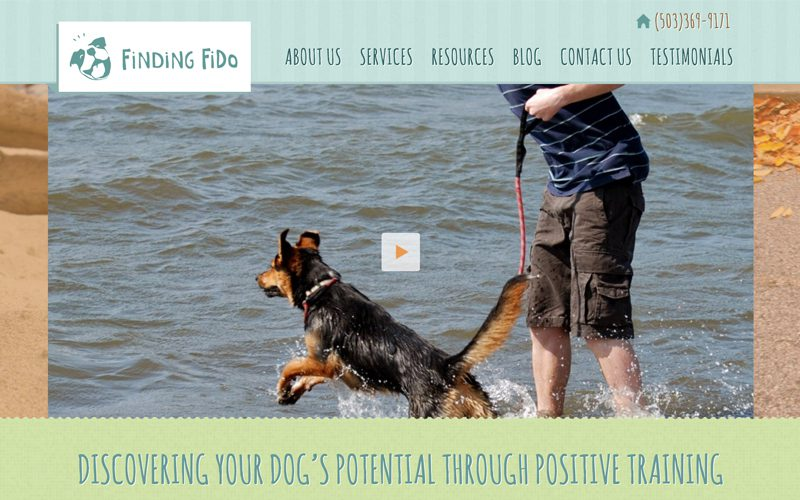 Finding Fido Responsive Website